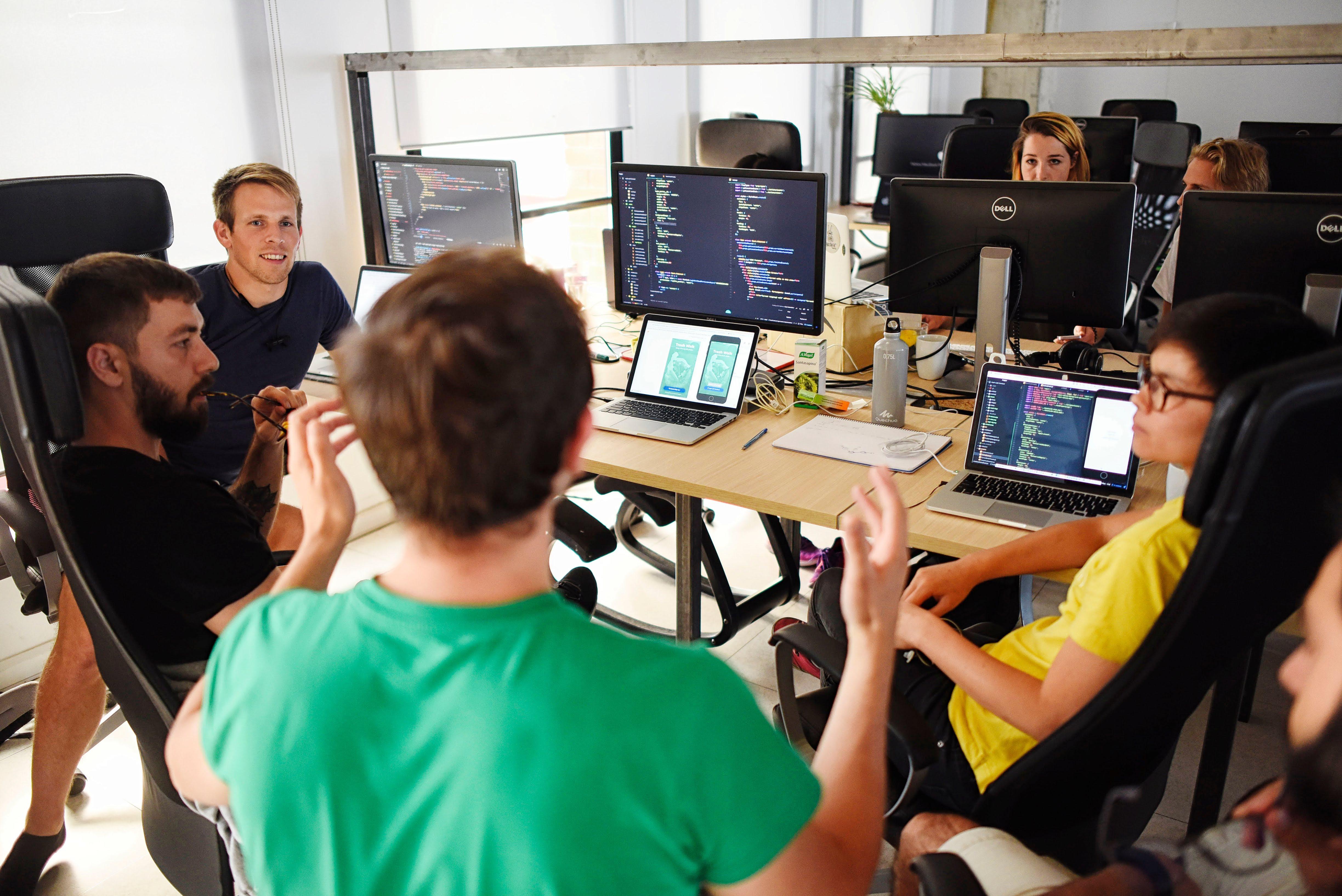 Barcelona 16/5/18 -  Codeworks, escuela de programación- ©Vicens Giménez